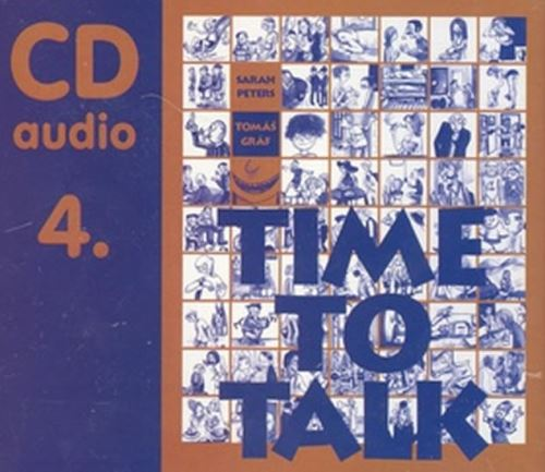 Time to talk 4 - audio CD